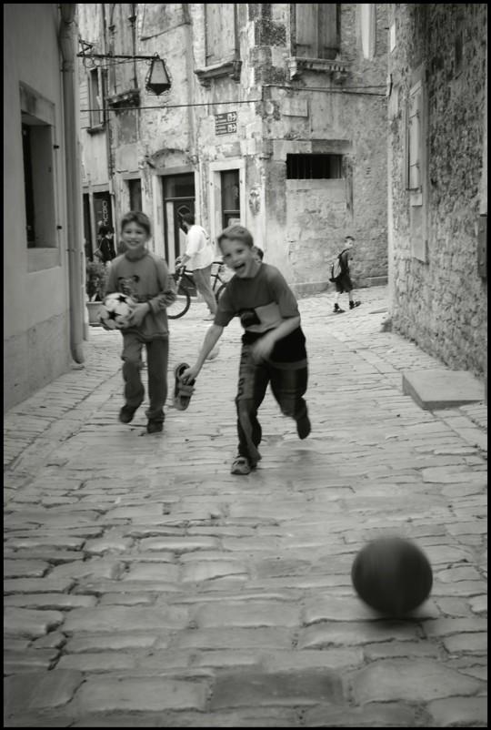 Istria, Rovigno. Aprile 2006
