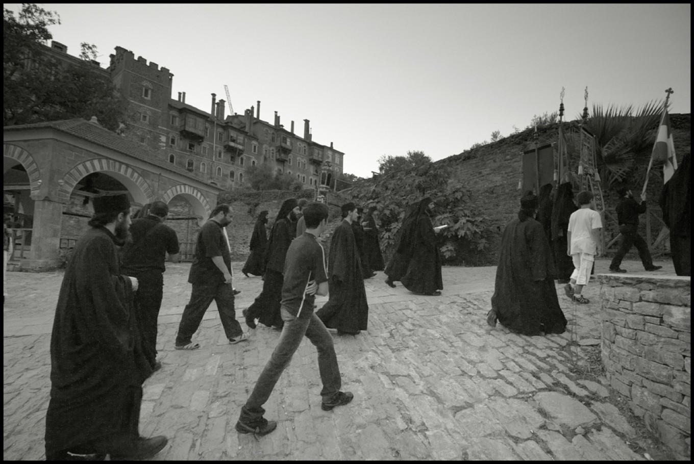Processione mattutina in onore del profeta Elia