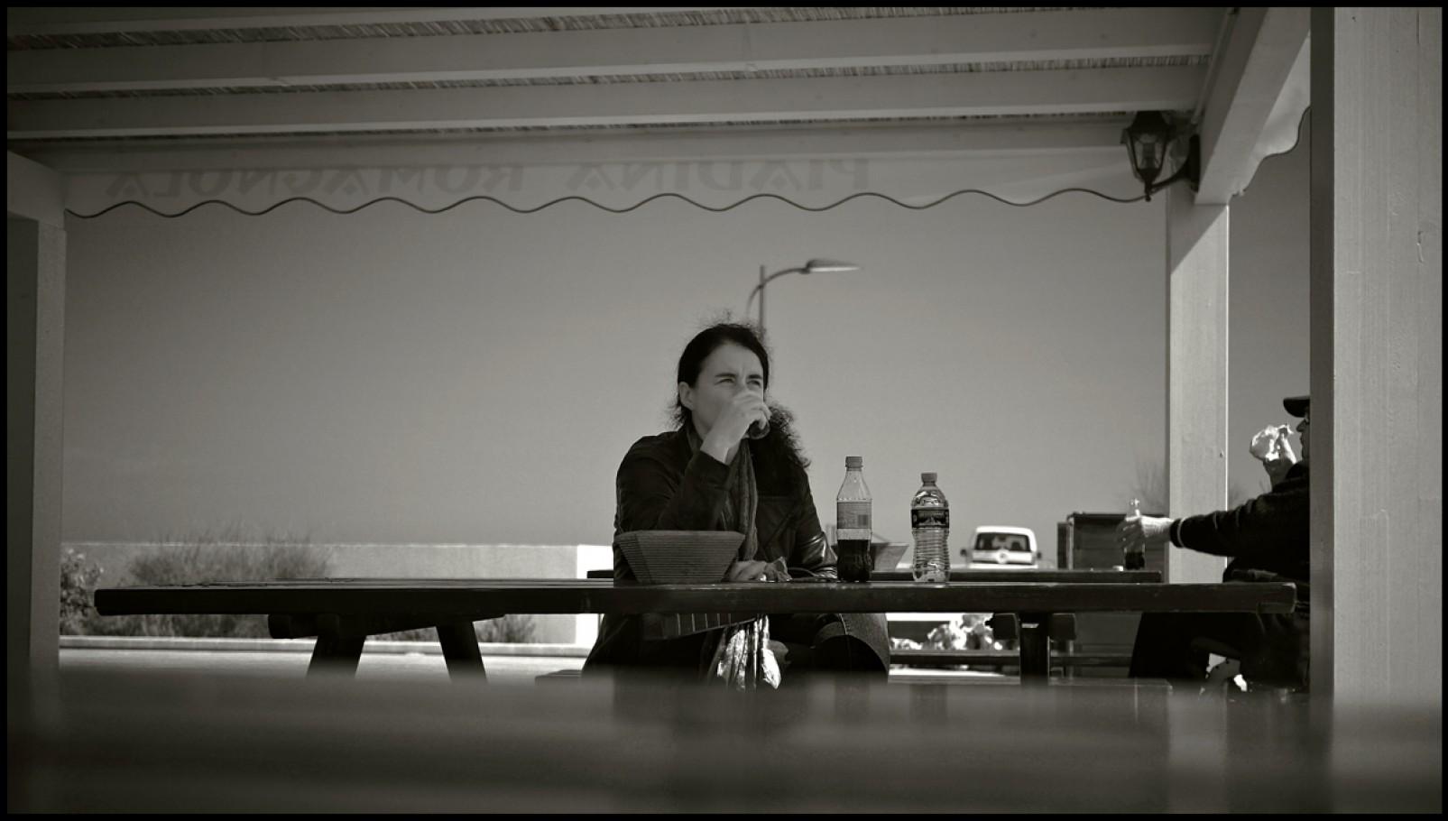 26 marzo 2011, Lido di Dante, chiosco della piadina