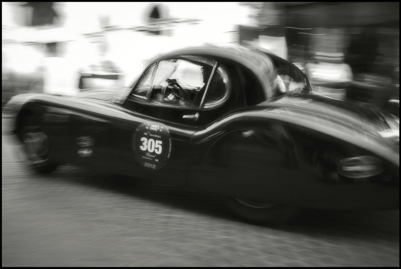 18 maggio 2012, Ravenna, passaggio della Mille miglia