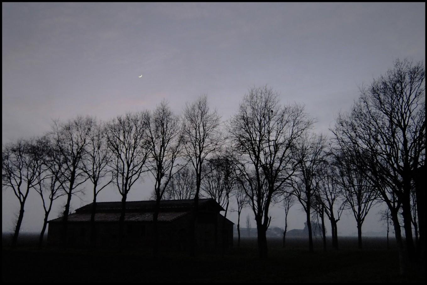 3 gennaio 2014, fattoria nei pressi della via Marabina